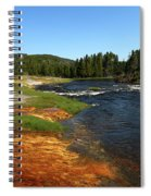 Firehole River Colors Spiral Notebook