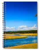 Firehole River Spiral Notebook