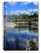 Firehole River Yellowstone Spiral Notebook