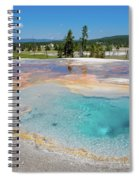 Firehole Spring Geyser Spiral Notebook