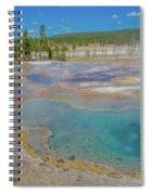 Firehole Spring Spiral Notebook