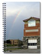 Firehouse Ranibow Spiral Notebook