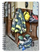 Fireman - Always Ready Spiral Notebook