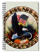 Fireman - Fire And Emergency Services Seal Spiral Notebook