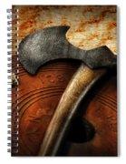 Fireman - The Fire Axe  Spiral Notebook
