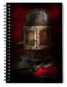 Fireman - The Mask Spiral Notebook