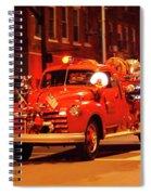 Fireman's Parade No. 3 Spiral Notebook