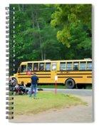 Firemen Transportation Spiral Notebook