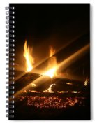 Fireplace Spiral Notebook