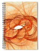 Fires Of Fusion Spiral Notebook