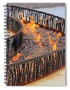 Fireside Walk Spiral Notebook