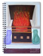 Fireside With You Spiral Notebook