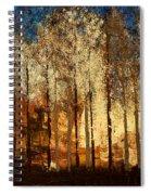 Firestorm Spiral Notebook