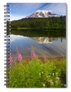 Fireweed Reflections Spiral Notebook