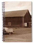 Firewood For Sale Spiral Notebook