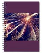 Firework  Spiral Notebook