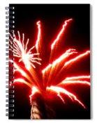 Firework Hibiscus Spiral Notebook