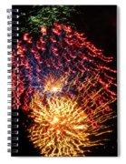 Firework Jewel Blast Spiral Notebook