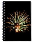Firework Yellow Tip Spiral Notebook