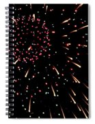 Fireworks 3 Spiral Notebook