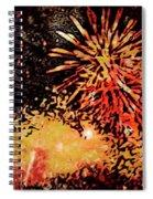 Fireworks 4 Spiral Notebook
