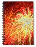 Fireworks 6 Spiral Notebook