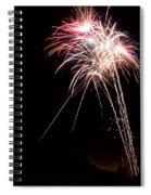Fireworks 70 Spiral Notebook