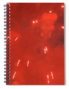 Fireworks A Different Persoective One Spiral Notebook