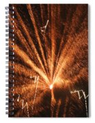 Fireworks A Different Perspective Seven Spiral Notebook
