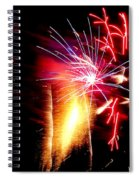 Fireworks Abstract #8 Spiral Notebook