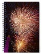 Fireworks At Maspalomas 2  Spiral Notebook
