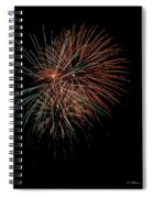 Fireworks Spiral Notebook