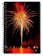 Happy Birthday, United States Of America 8 Spiral Notebook