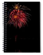 Fireworks II Spiral Notebook
