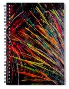 Fireworks In Bled Spiral Notebook