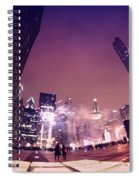 Fireworks In February Spiral Notebook