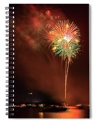 Happy Birthday United States Of America 15 Spiral Notebook