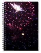 Fireworks Over Puget Sound 10 Spiral Notebook