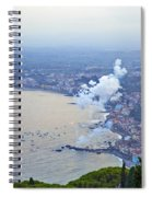 Fireworks Over Sicily Spiral Notebook