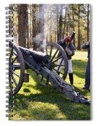 Firing The Cannon Spiral Notebook
