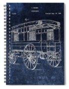 First Ambulance Patent Spiral Notebook