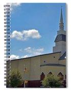 First Baptist Church - Pflugerville Texas Spiral Notebook