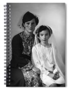 First Communion And Mom Spiral Notebook