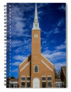 First Congregational Church Spiral Notebook