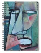 First Day North Of The Tension Line Spiral Notebook