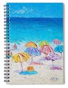 First Day Of Summer Spiral Notebook