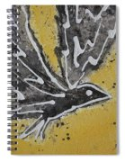 First Flight Original Painting Spiral Notebook
