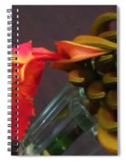 First Flower Spiral Notebook