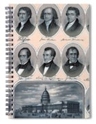 First Hundred Years Of American Presidents Spiral Notebook