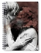 First Kiss  Spiral Notebook